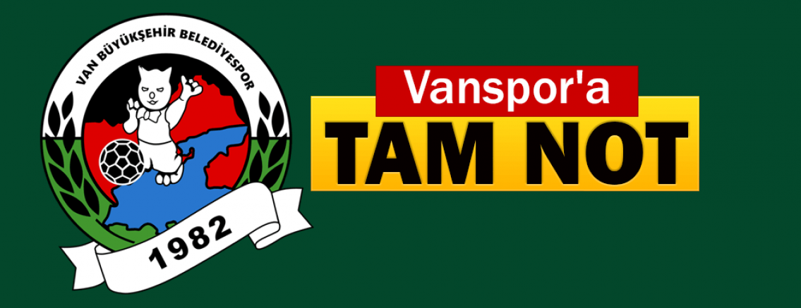 Vanspor'a tam not